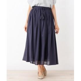 SHOO・LA・RUE/DRESKIP(シューラルー/ドレスキップ) 【WEB限定サイズあり】インド綿ボリュームマキシスカート