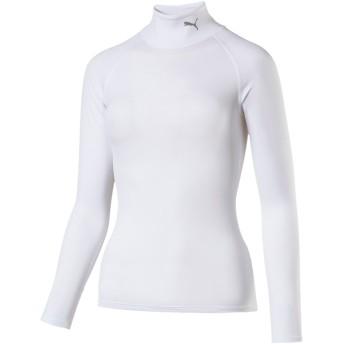 【プーマ公式通販】 プーマ テック ライト LSモックネック Tシャツ ウィメンズ (長袖) ウィメンズ Puma White |PUMA.com
