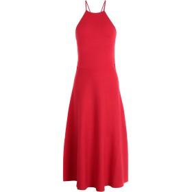 《期間限定セール開催中!》POLO RALPH LAUREN レディース 7分丈ワンピース・ドレス レッド XS レーヨン 72% / ポリエステル 28% Halter Dress