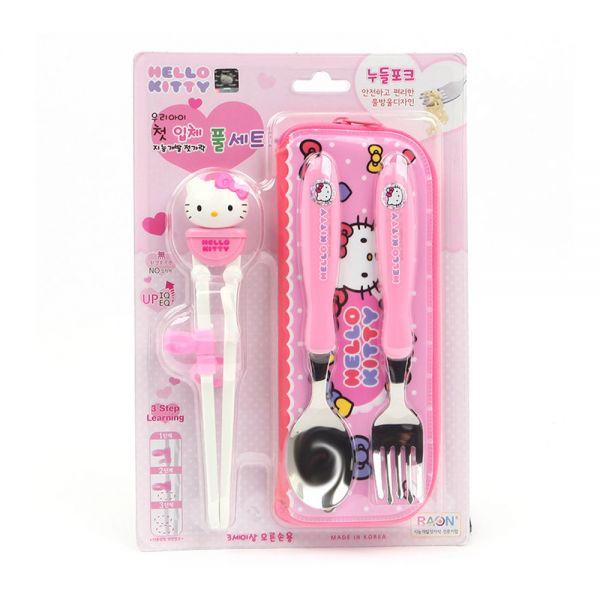米蘭放大Hello Kitty開發立體智能全套筷子