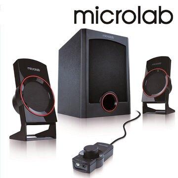 [富廉網] Microlab M-111 M111 111 2.1時尚美聲多媒體喇叭