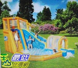 [COSCO代購 如果售完謹致歉意]  W153304 Bestway 充氣式單滑水道樂園