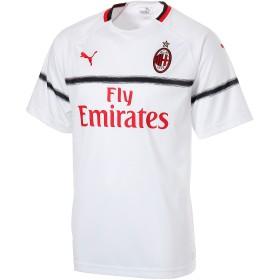 【プーマ公式通販】 プーマ AC MILAN SS アウェイ レプリカシャツ メンズ Puma White-Tango Red |PUMA.com