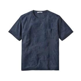 ボタニカル総柄プリント半袖Tシャツ Tシャツ・カットソー