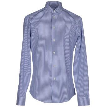 《セール開催中》BRIAN DALES メンズ シャツ ブルー 39 コットン 100%