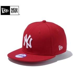 【メーカー取次】NEW ERA ニューエラ Youth キッズ用 9FIFTY MLB ニューヨーク ヤンキース レッドXホワイトロゴ 11308482 キャップ 子供用 帽子 ブランド
