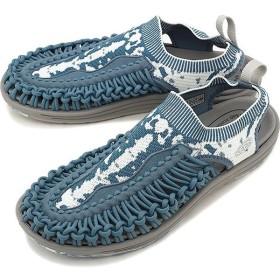 限定モデル キーン KEEN メンズ ユニーク エヴォ MEN UNEEK EVO イリオモテパック 西表島 サンダル 靴 Blue Mirage White 1021482 SS19