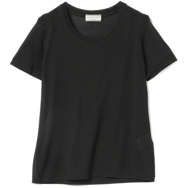 ビームス ウィメン Ray BEAMS High Basic / スクープネック Tシャツ レディース BLACK ONESIZE 【BEAMS WOMEN】