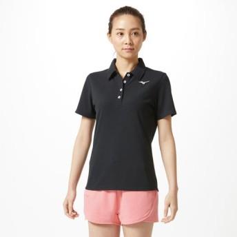 MIZUNO SHOP [ミズノ公式オンラインショップ] ポロシャツ[レディース] 09 ブラック 32MA9380