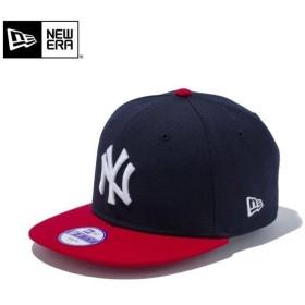 【メーカー取次】NEW ERA ニューエラ Youth キッズ用 9FIFTY MLB ニューヨーク ヤンキース ネイビーXレッド 11308484 キャップ 子供用 帽子 ブランド