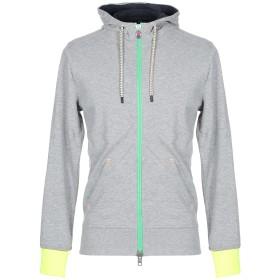 《期間限定 セール開催中》INVICTA メンズ スウェットシャツ ライトグレー XXL コットン 60% / ポリエステル 40%