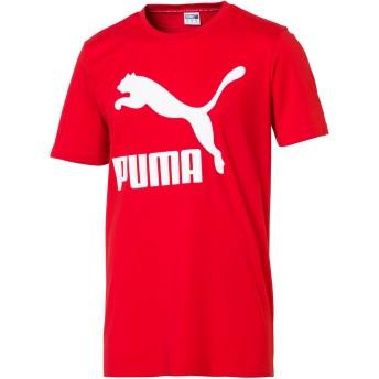 【プーマ公式通販】 プーマ CLASSICS ロゴ SS Tシャツ (半袖) メンズ High Risk Red |PUMA.com