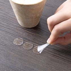 2cm圓形透明雙面防滑固定貼-2張共140入