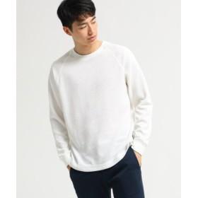 (BASE STATION/ベースステーション)サーマル クルーネック 長袖 Tシャツ/メンズ アイボリー(004)