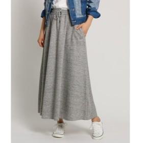 Dessin / デッサン 【Sサイズあり・洗える・日本製】裏毛スウェットロングスカート