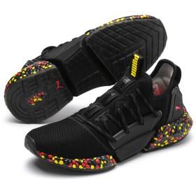 【プーマ公式通販】 プーマ ハイブリッド ロケット ランナー メンズ Black-Blazing Yellow-Red |PUMA.com