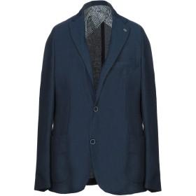《期間限定セール開催中!》BARBATI メンズ テーラードジャケット ブルー 54 ポリエステル 86% / レーヨン 14%