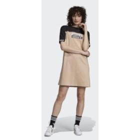 (取寄)アディダス オリジナルス レディース ティー ドレス adidas originals Women Dress Tee Ash Pearl / Black