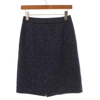 COUP DE CHANCE / クードシャンス レディース スカート 色:紺系(ツイード) サイズ:38(M位)