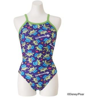 MIZUNO SHOP [ミズノ公式オンラインショップ] 競泳練習用【Disney/TOY STORY】ミディアムカット[ジュニア] 67 パープル N2MA9980