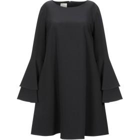 《セール開催中》GIORGIA & JOHNS レディース ミニワンピース&ドレス ブラック L ポリエステル 92% / ポリウレタン 8%
