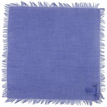 《期間限定セール開催中!》CRUCIANI レディース スカーフ ブルー カシミヤ 70% / シルク 30%