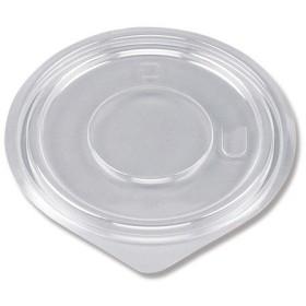 シーピー化成:惣菜容器 平嵌合蓋 U字穴 BF-384 50個入り 004404244