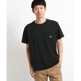 THE SHOP TK(Men)(ザ ショップ ティーケー(メンズ)) 【吸水速乾/セオアルファ糸使用】さらさら無地ポケットTシャツ