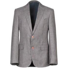《期間限定セール開催中!》PAL ZILERI メンズ テーラードジャケット ドーブグレー 48 ウール 49% / シルク 30% / 麻 21%