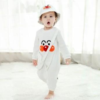 ベビー服 おしゃれ ロンパース ベビー 男の子 女の子 カバーオール 赤ちゃん 新生児服 百日祝い 出産祝い オーバオールロンパース 子供