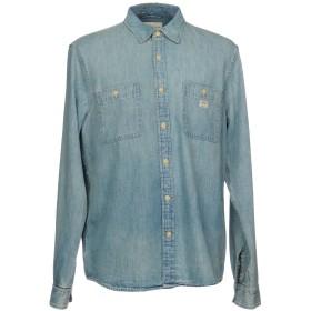 《期間限定セール開催中!》DENIM & SUPPLY RALPH LAUREN メンズ デニムシャツ ブルー M コットン 100%