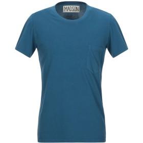 《期間限定 セール開催中》MADSON メンズ T シャツ ブルーグレー S コットン 100%