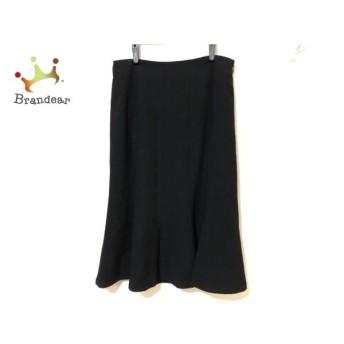 レキップ ヨシエイナバ L'EQUIPE YOSHIE INABA スカート サイズ9 M レディース 黒 新着 20190709
