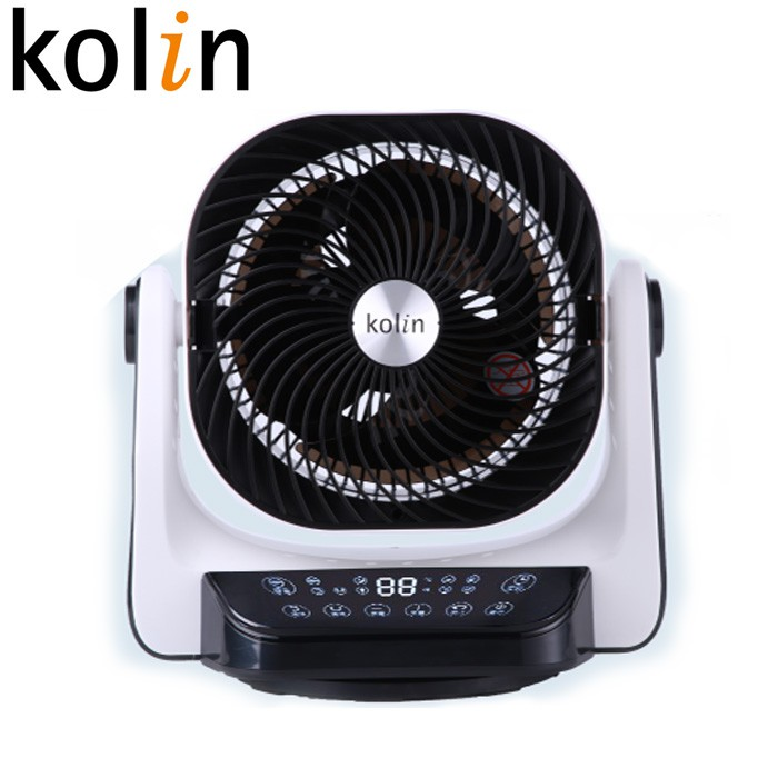 Kolin歌林9吋3D擺頭遙控DC循環扇 KFC-A901(免運)