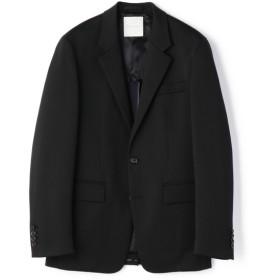 ESTNATION / ポンチシングルセットアップジャケット ブラック/X-LARGE(エストネーション)◆メンズ テーラードジャケット