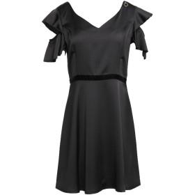 《セール開催中》MANGANO レディース ミニワンピース&ドレス ブラック L ポリエステル 100%