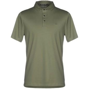 《期間限定セール開催中!》MICHAEL KORS MENS メンズ ポロシャツ ミリタリーグリーン XS コットン 100%