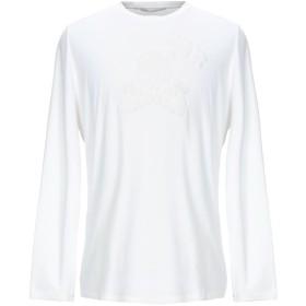 《セール開催中》ERMANNO SCERVINO メンズ T シャツ ホワイト 52 コットン 96% / ポリウレタン 4% / レーヨン