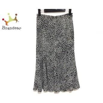 レキップ ヨシエイナバ L'EQUIPE YOSHIE INABA スカート サイズ38 M レディース 黒×白 新着 20190709