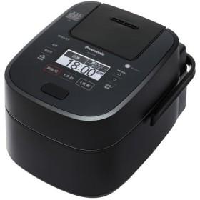パナソニック スチーム&可変圧力IHジャー炊飯器 5.5合炊き Wおどり炊き SR-VSX109-K ブラック