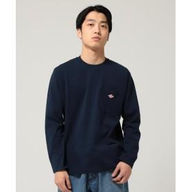 ビームス メン DANTON / ポケット ロング スリーブ Tシャツ メンズ NAVY 36 【BEAMS MEN】