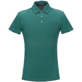《期間限定 セール開催中》ROBERTO COLLINA メンズ ポロシャツ グリーン S コットン 100%