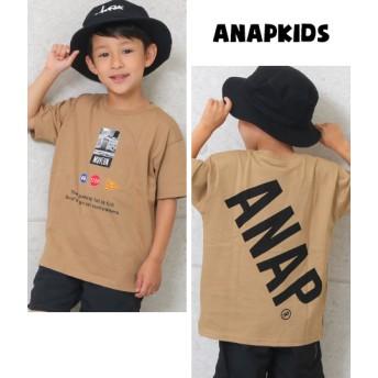 ANAP KIDS アナップキッズ フォトプリントビッグTシャツ