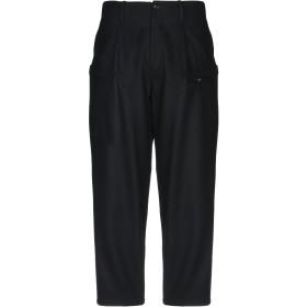 《期間限定 セール開催中》YOHJI YAMAMOTO JEANS POUR HOMME メンズ パンツ ブラック 4 ウール 90% / ナイロン 10%