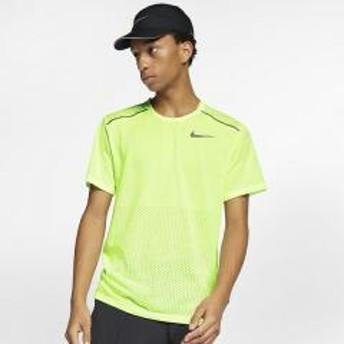 (セール)NIKE(ナイキ)ランニング メンズ半袖Tシャツ ナイキ ブリーズ ライズ 365 S/S トップ AQ9920-701 メンズ ベアリーボルト/(リフレクトシルバー)