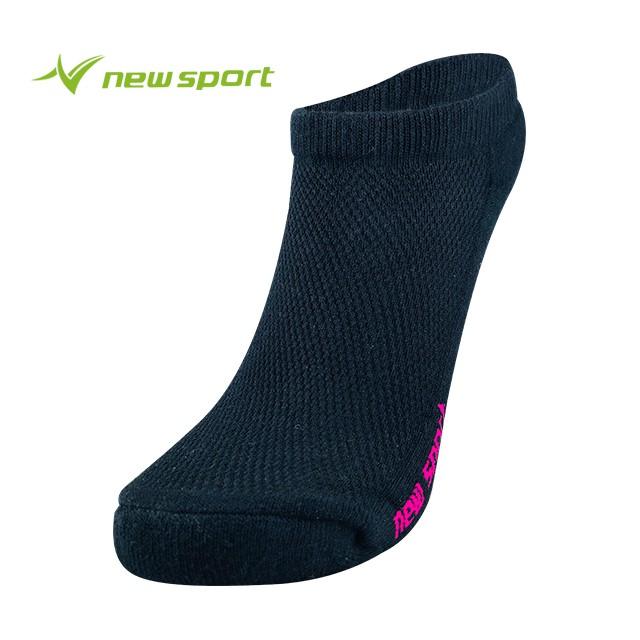 【多雙優惠】 new sport 炫彩透氣萊卡編織系列 經典萊卡 黑桃 襪子 除臭 透氣 短襪