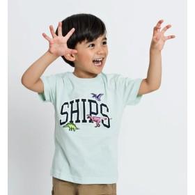 【シップス/SHIPS】 SHIPS KIDS:ロゴ×恐竜 プリント TEE(100~130cm)
