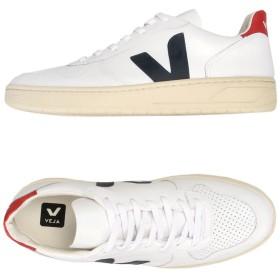 《期間限定 セール開催中》VEJA メンズ スニーカー&テニスシューズ(ローカット) ホワイト 40 革 100%