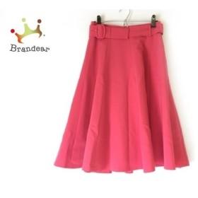 ジャスグリッティー JUSGLITTY スカート サイズ2 M レディース 美品 ピンク 新着 20190709