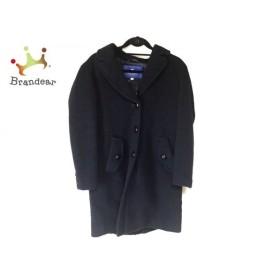ブルーレーベルクレストブリッジ BLUE LABEL CRESTBRIDGE コート サイズ38 M レディース 黒 冬物 新着 20190709